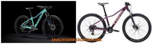 tipos de bicicleta para mujer