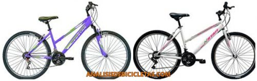 tipos de bicicletas para mujer