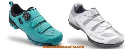 Zapatilals de ciclismo para mujer