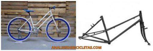 cuadro bicicletas para mujer