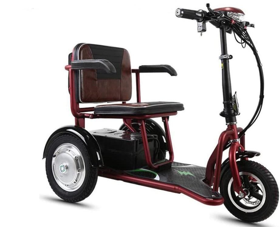 Triciclos eléctricos plegables para adulto baratos