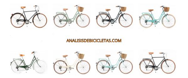 Capri bikes paseo mujer bicicletas vintage