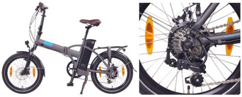 bici electrica plegable alta autonomia