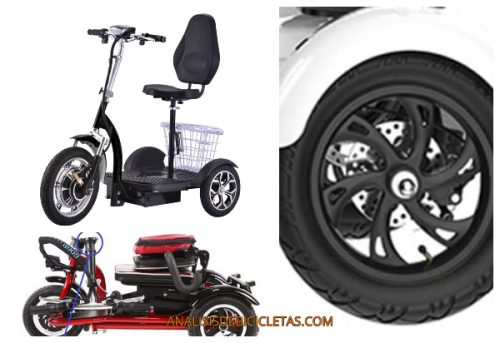 Triciclos eléctricos seguros. Guía para elegir triciclos para adulto.