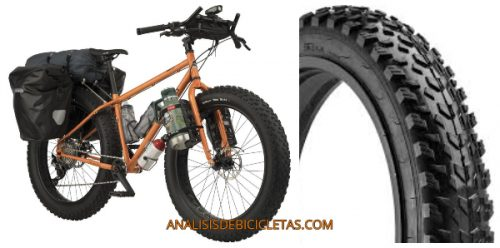 Pugsley Fat bike and tire