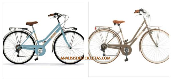 Bicicletas urbanas vintage. modelos bicicleta mujer