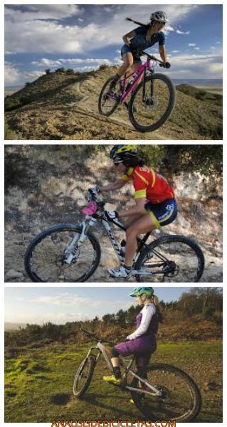 MTB mujer, modelos bicicleta mujer