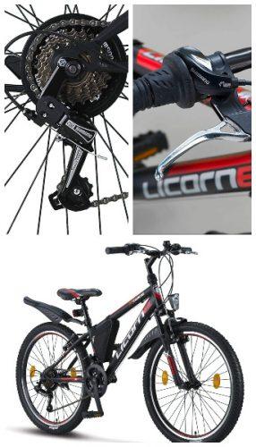Licorne bicicleta 24 pulgadas niño barata