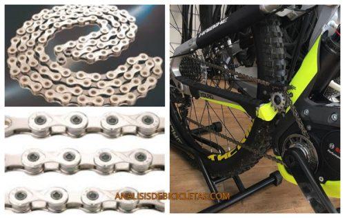 Cadena Ebike VS cadena normal. cadena de bicicleta eléctrica