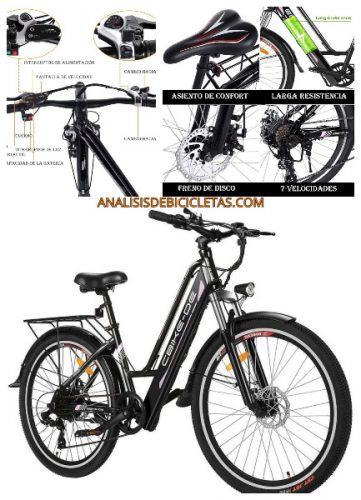 Bicicleta electrica urbana ViVI calidad barata