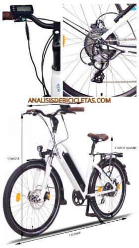 Bici urbana NCM milano barata