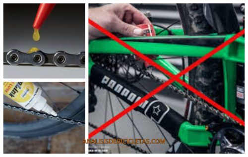 como lubricar la cadena de la bicicleta eléctrica