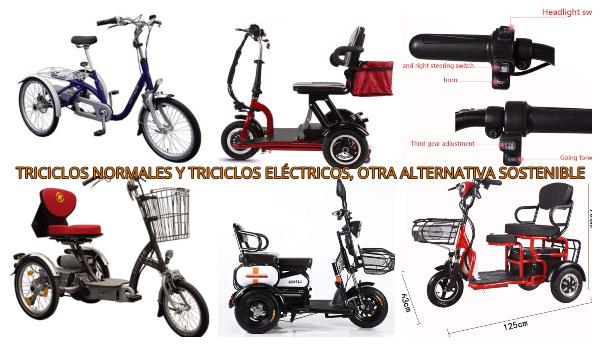 mejores triciclos electricos