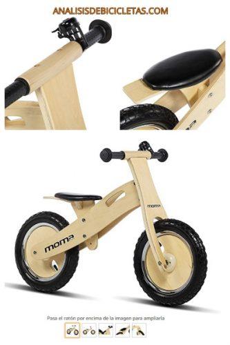 Bicicleta de madera sin pedales niño barata