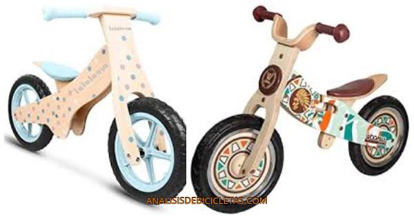 bicicletas sin pedales para niños seguras