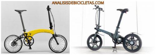 La bicicleta eléctrica plegable más ligera del mundo