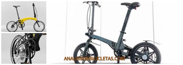 bicicleta electrica plegable ligera