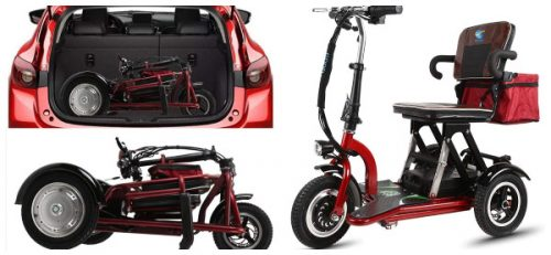 Los mejores triciclos eléctricos plegables para adulto en calidad precio del 【2020】