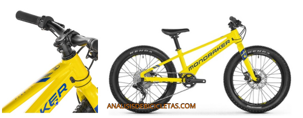 Mondraker play 20 bicicleta para niños