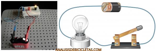 batería de luz de bicicleta