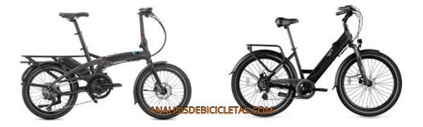 Bicicleta urbana electrica.