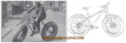 Historia Fat bike